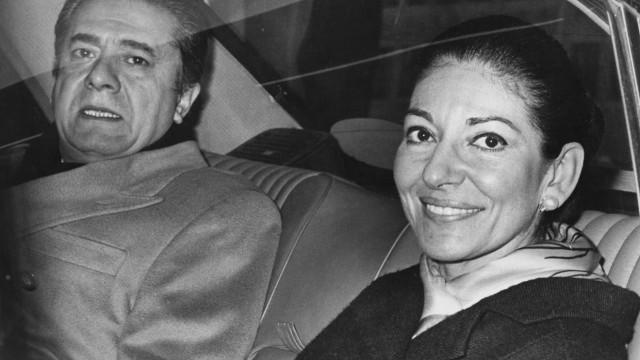 Maria Callas foi abusada e drogada pelo marido, Aristotle Onassis