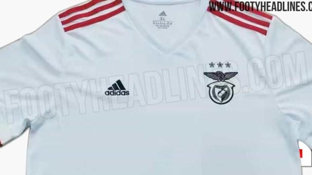 Esta pode ser a nova camisola alternativa do Benfica para 2021/22