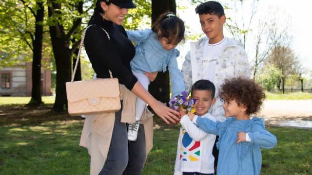 Georgina Rodríguez começa o dia com gesto amoroso de Mateo