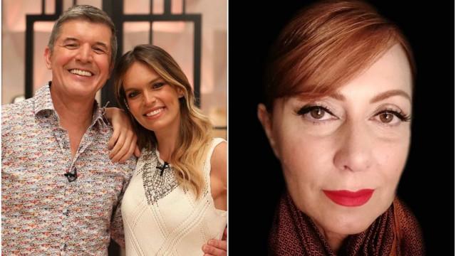 João Baião e Diana Chaves dedicam mensagem de apoio a Maria João Abreu