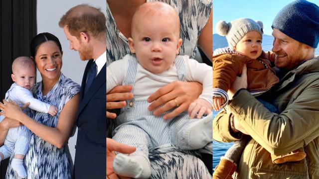 Parabéns Archie! Filho de Harry e Meghan Markle completa dois anos