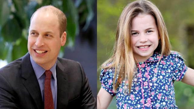Príncipe William revela que a filha Charlotte diz que já tem 16 anos