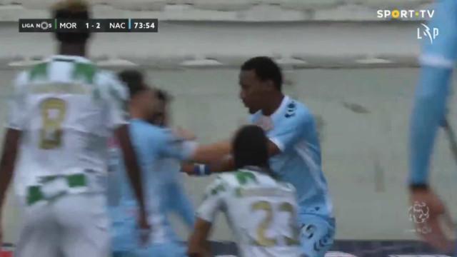 Nacional 'saca coelho da cartola' e marca... no minuto seguinte