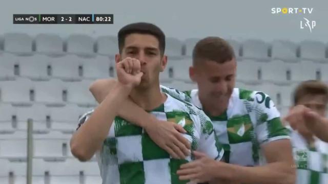 O golo que selou o resultado final no 'louco' Moreirense-Nacional