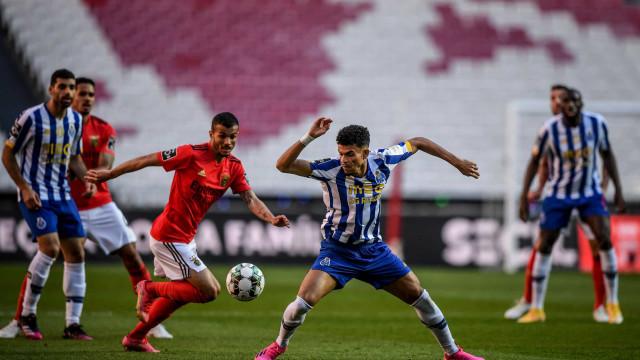 Benfica e FC Porto empatam e deixam Sporting a dois pontos do título