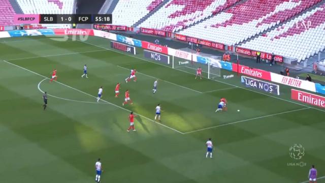 Segunda parte arranca com mais um penálti anulado a favor do Benfica