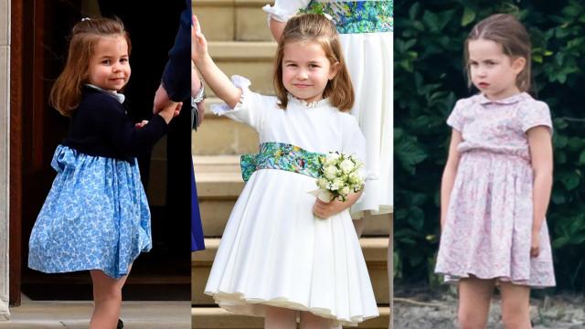 Look da Semana. Os encantadores vestidos da princesa Charlotte