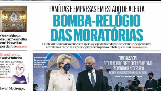 Hoje é notícia: Bomba-relógio das moratórias; Gestora esquece filha