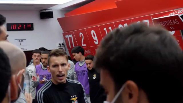 Nos bastidores do Clássico: Assim foi a preparação do Benfica