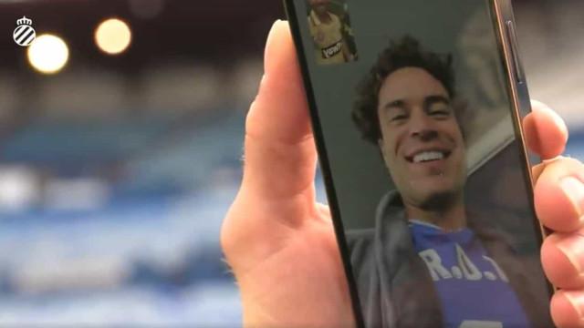 Espanyol subiu à La Liga e não esqueceu Raul de Tomas