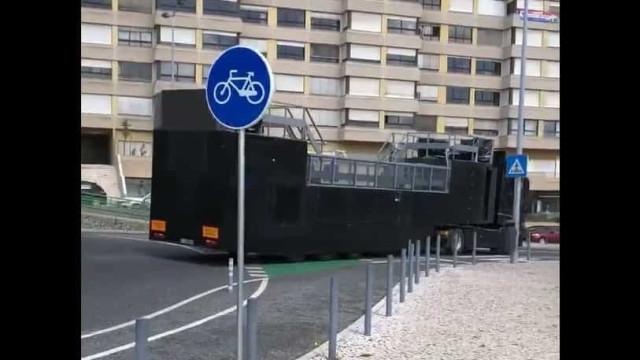 Autocarro para a festa do título já foi visto em Alvalade