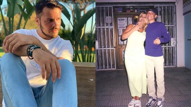 Mickael Carreira emociona com mensagem de amor enviada à mãe