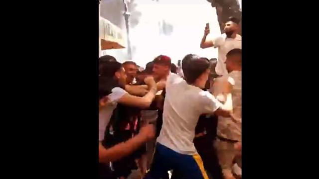 Adeptos do Salernitana festejam subida à Serie A com atos de vandalismo