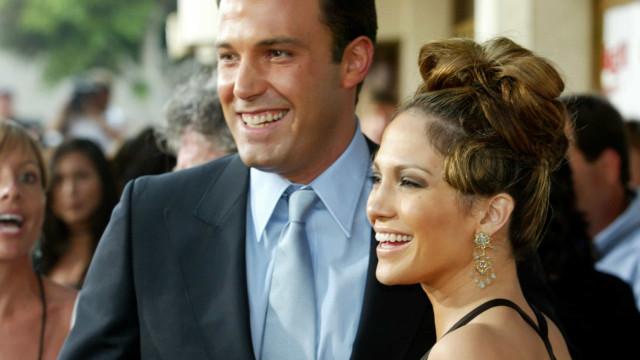 Jennifer Lopez e Ben Affleck de férias juntos 17 anos após fim do namoro