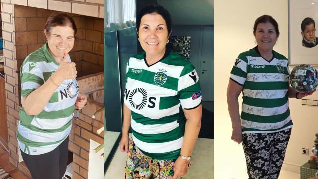 O amor de Dolores Aveiro pelo Sporting em 10 imagens