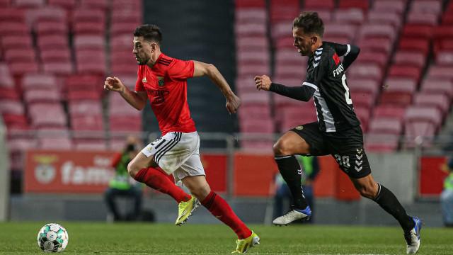 Benfica consegue reviravolta e Nacional está com um pé na II Liga