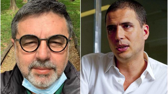 """Após linguagem """"malcriada"""", Malato pede desculpa a Ricardo Araújo Pereira"""