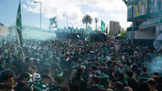 Festa apoteótica em Alvalade: Milhares de adeptos em absoluto delírio