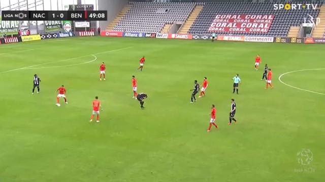 Benfica ainda festejou mas o golo de Nuno Tavares acabou anulado
