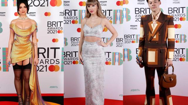 Os looks que passaram pela passadeira vermelha dos BRIT Awards
