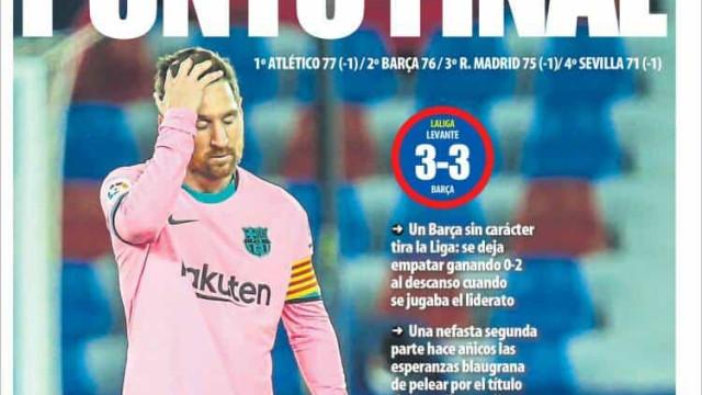 Lá fora: Barcelona abandona corrida pelo título e City festeja campeonato