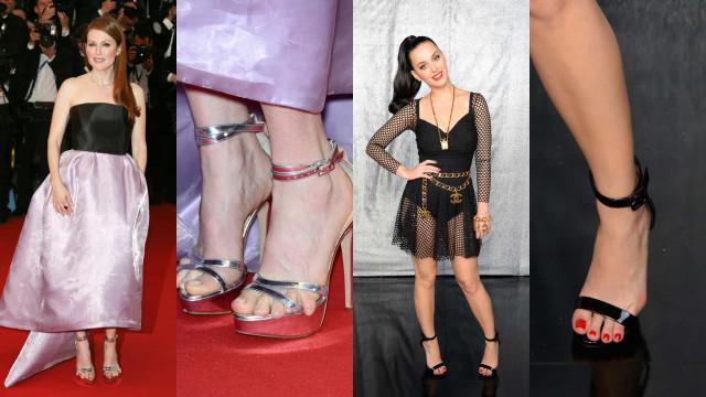 Os sapatos mais desconfortáveis já usados por celebridades