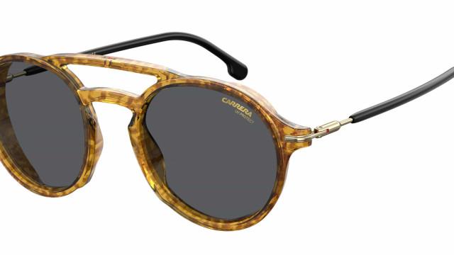 A coleção de óculos marcantes da Carrera
