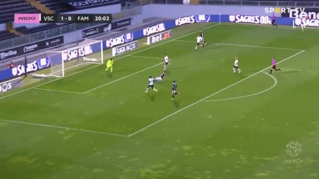 Kraev foi ao chão empatar as contas em Guimarães