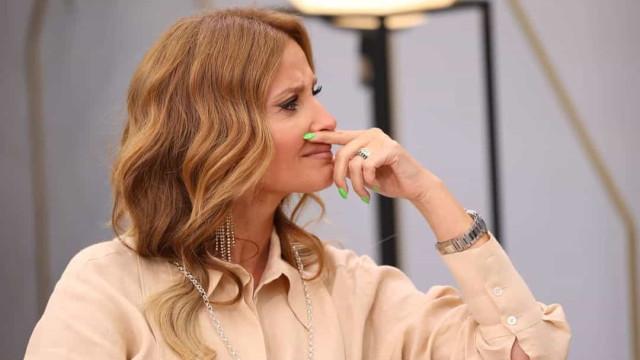 Cristina Ferreira em lágrimas com presente de João Espírito Santo