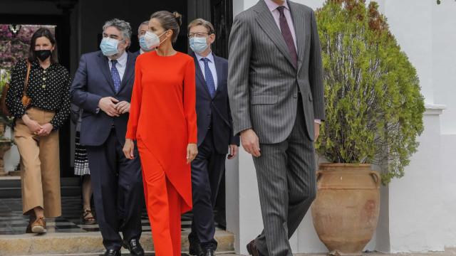 Rainha Letizia e o look que roubou todas as atenções
