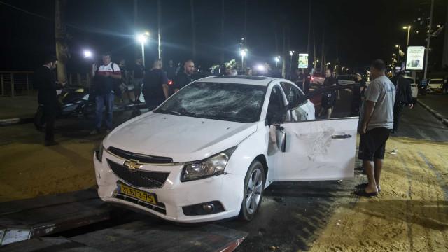 Condutor árabe agredido por grupo de israelitas