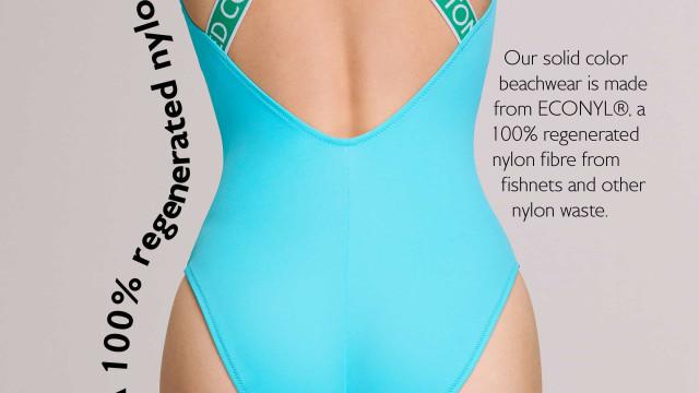 Fique a conhecer a nova linha de fatos de banho sustentáveis da Benetton