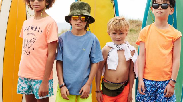 'Surf Camp'. A nova coleção da Mango Kids é uma aventura