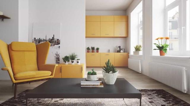 Fique a par da tendência de cores deste ano e dê um novo tom ao seu lar