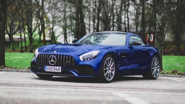 Valtteri Bottas colocou o seu Mercedes-AMG GT S à venda