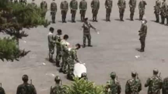 Militares a cantarem música do Sporting? Exército abre inquérito