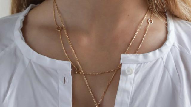 Maria Avillez Jewellery apresenta coleção simples e elegante