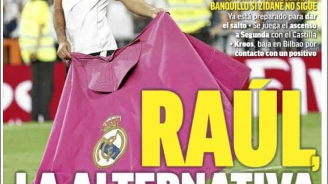 Lá fora: Final em Inglaterra e sucessor à vista para Zidane