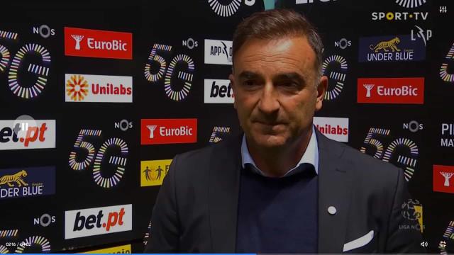 """Carvalhal e a vitória do Sp. Braga: """"Pontinha de sorte que faz falta"""""""
