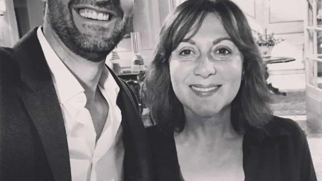 Daniel Oliveira e o carinhoso momento no funeral de Maria João Abreu