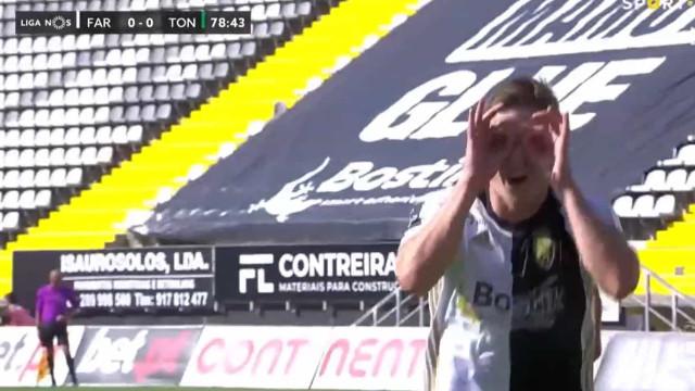 O golo de Ryan Gauld que mantém o Farense vivo na luta pela permanência