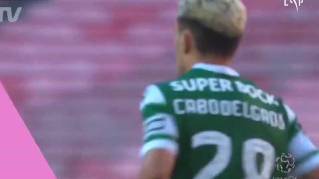 Golaço de Pote relança Sporting no dérbi e 'pressiona' Seferovic