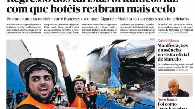 Hoje é notícia: Hotéis reabrem mais cedo; Duplicam ataques informáticos