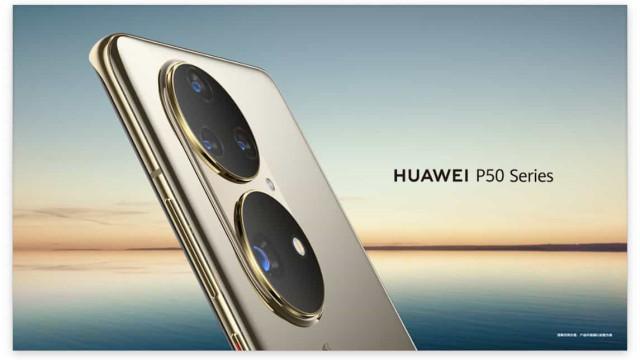 Horas antes de ser anunciado, foram revelados detalhes do Huawei P50 Pro