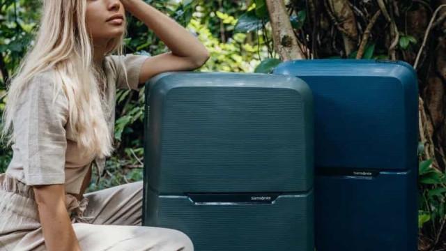Samsonite lança malas de viagem 100% feitas de materiais reciclados