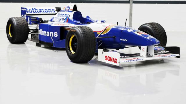 Carro de Villeneuve (que ultrapassou Schumacher no Estoril) está à venda