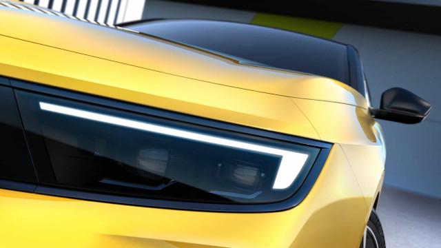 Opel revela as primeiras imagens do novo Astra