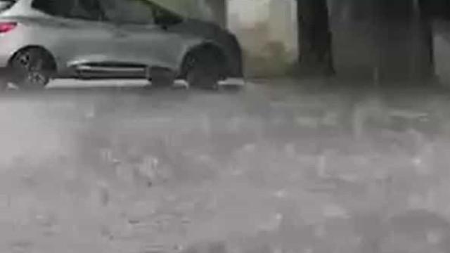 Chuva, trovoada e granizo assolam Trás-os-Montes. Eis as imagens