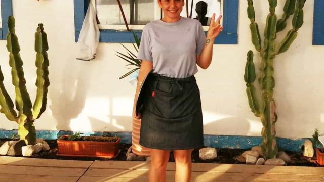 Sara Norte revela que está a trabalhar num restaurante de praia