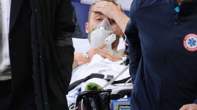 """Jogador de 14 anos desmaiou no mesmo dia de Eriksen: """"Acordei na UCI"""""""